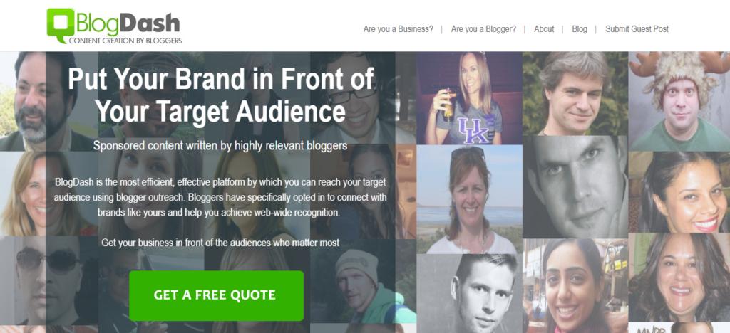 BlogDash_Blog Outreach Services