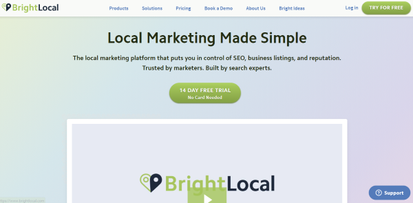 Bright Local Local SEO Tool